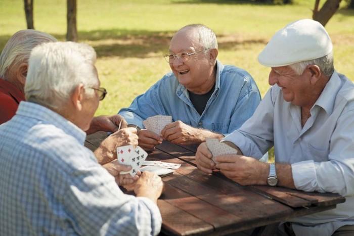 Пенсионеры в Чехии