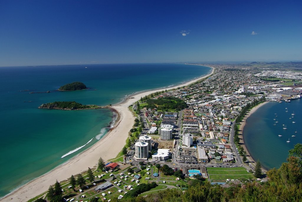 Пляжи Новой Зеландии
