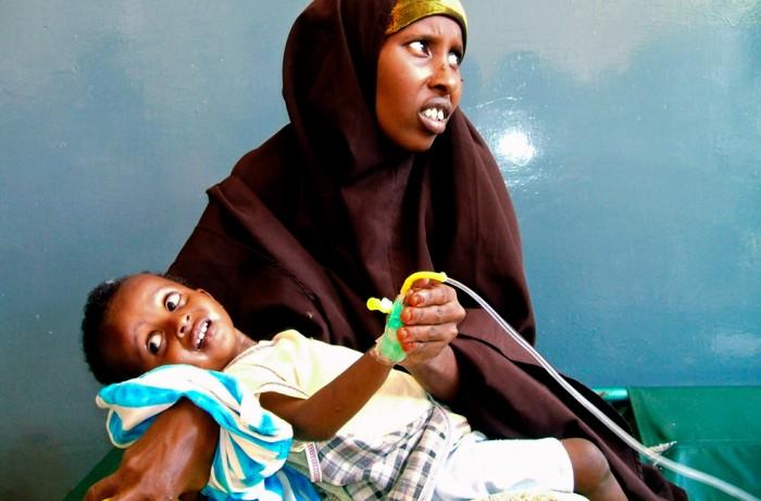 Женщина и ребёнок Сомали