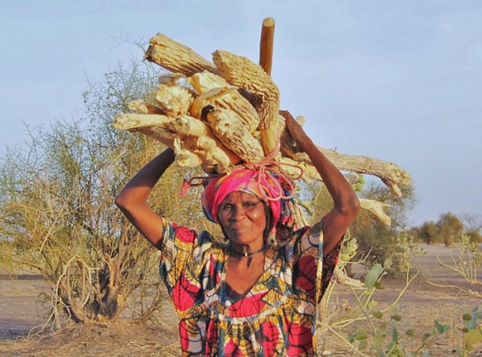 Женщина в государстве Чад, Африка