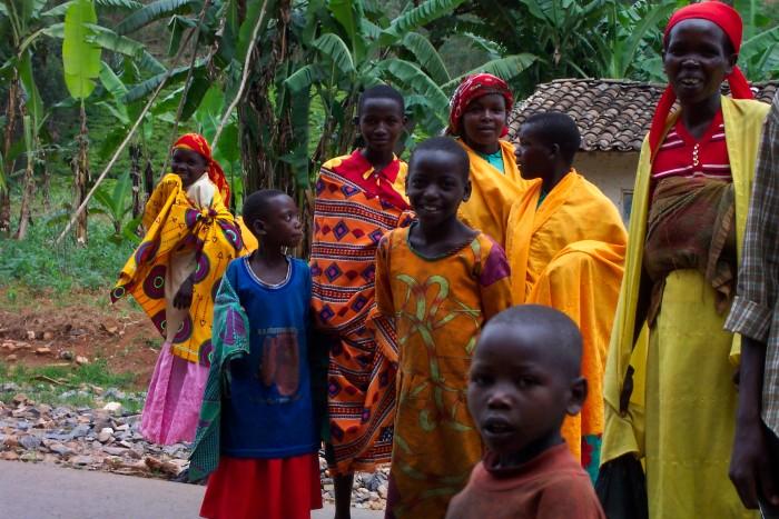 Жители Бурунди