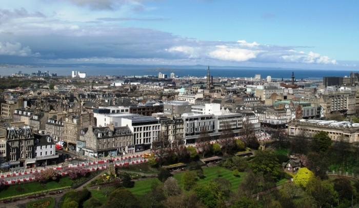 Шотландский Эдинбург