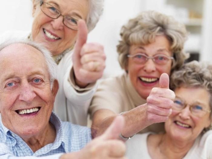 Ирландские пенсионеры