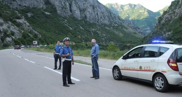 Черногорская полиция