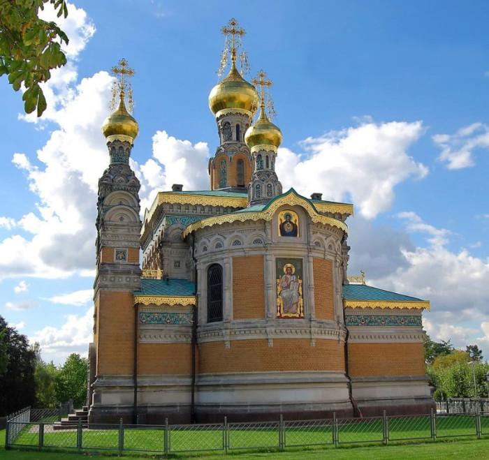 Русские церкви в Германии