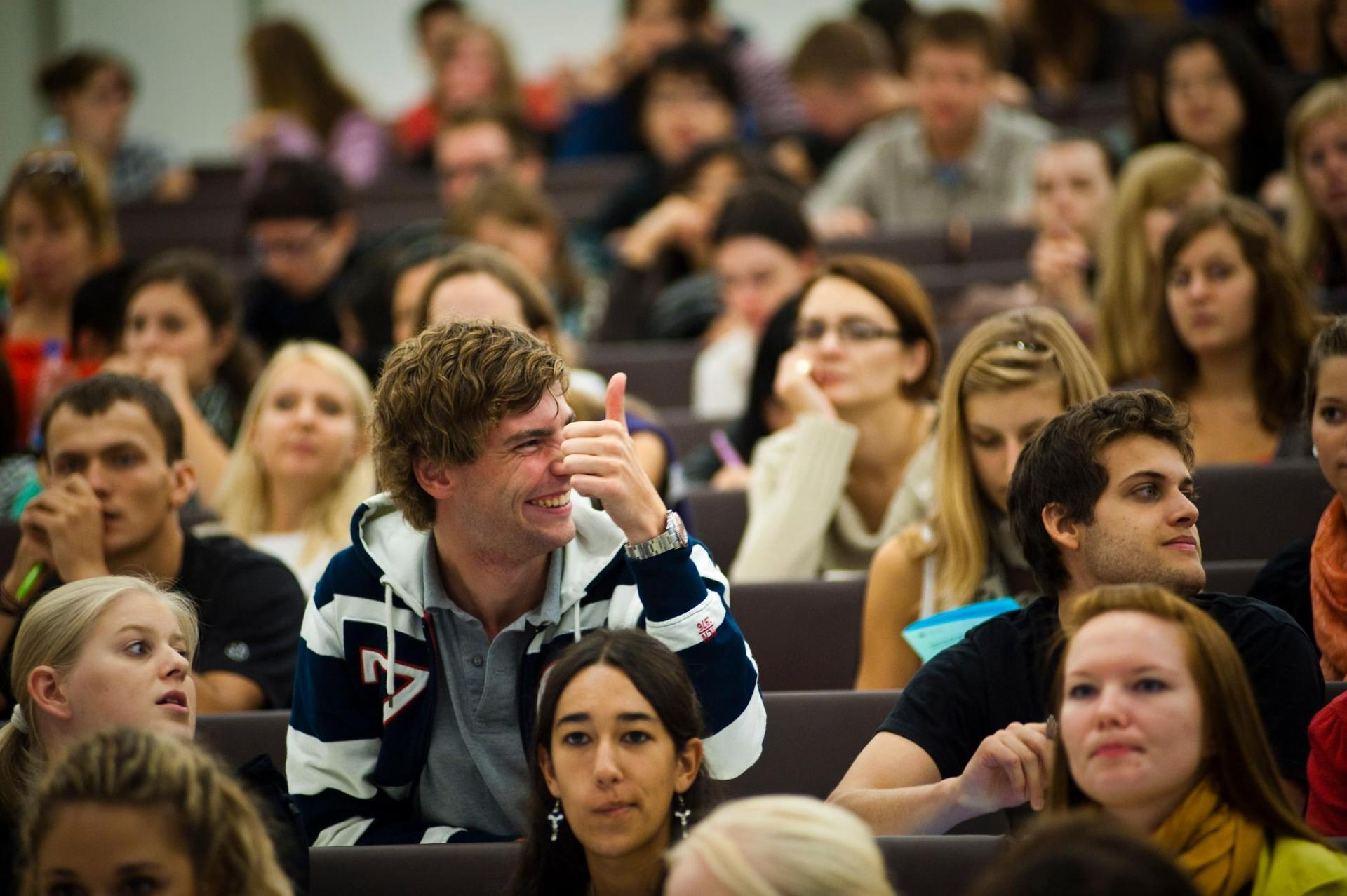 студенты Финляндии