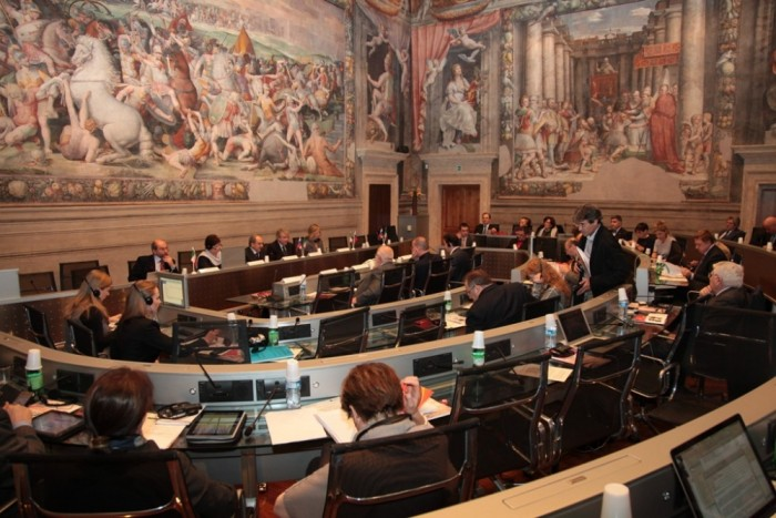 Аудитория в итальянском университете