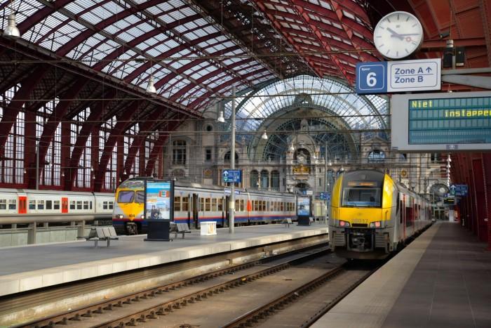 Вокзал в Антверпене