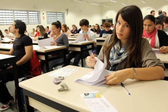 Студентыв Италии