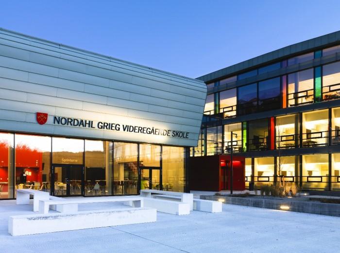 Здание высшей норвежской школы