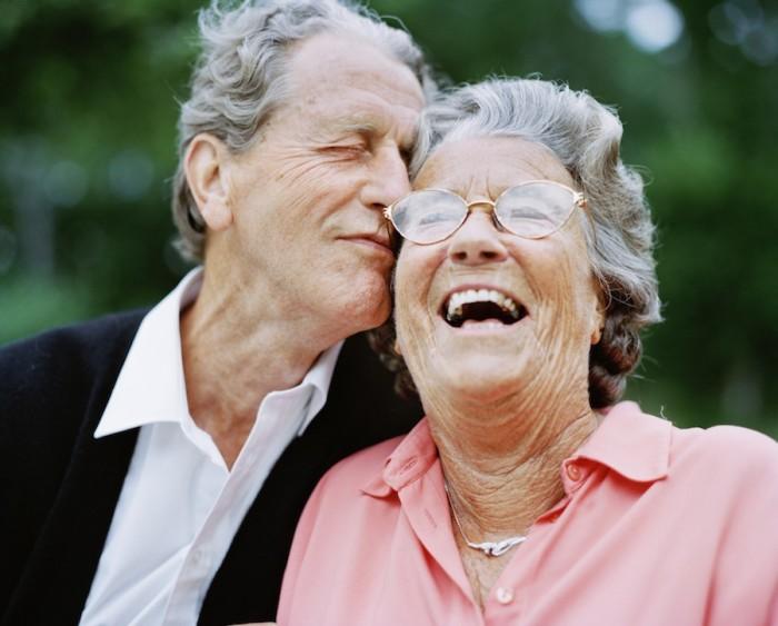 Парочка французских пенсионеров