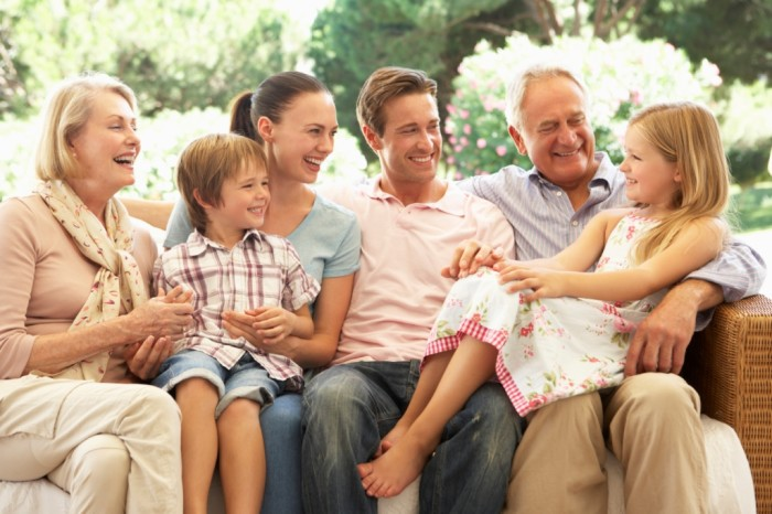 Датская семья