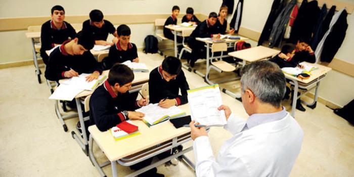 Урок математики в одном из турецких лицеев для мальчиков