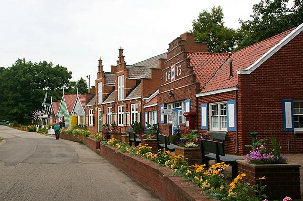 Загородный голландский посёлок