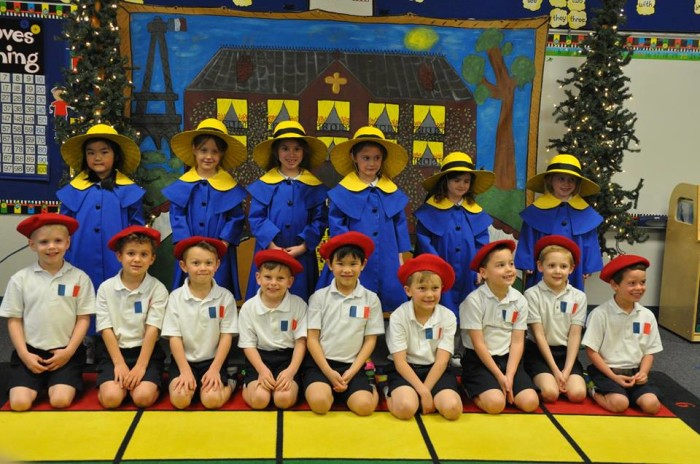 Дети в детском саду во Франции