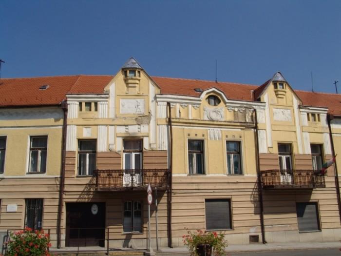 Архитектурные здания венгерского города Шиклош