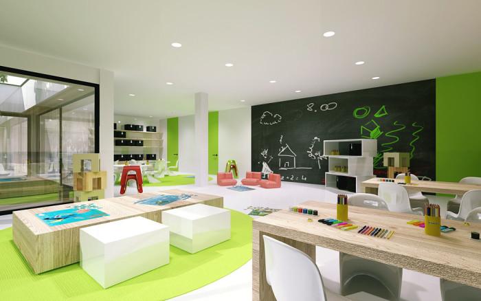 Игровая комната в польском детском саду