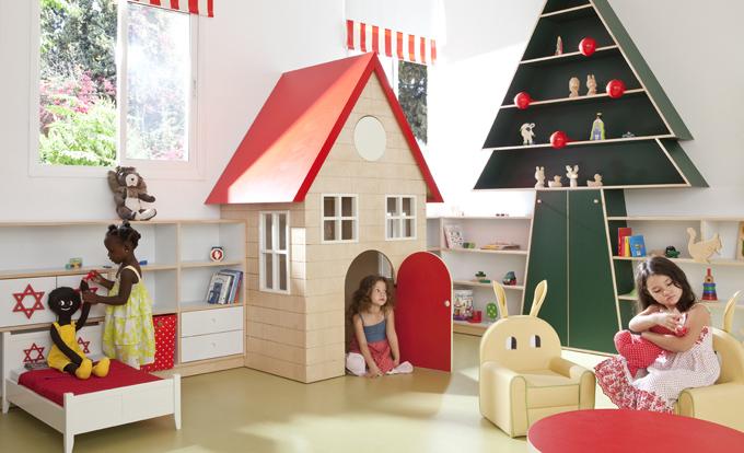 Игровая комната в швейцарском детском саду