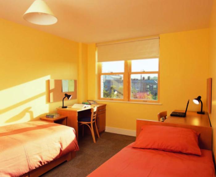Комната в ирландском общежитии