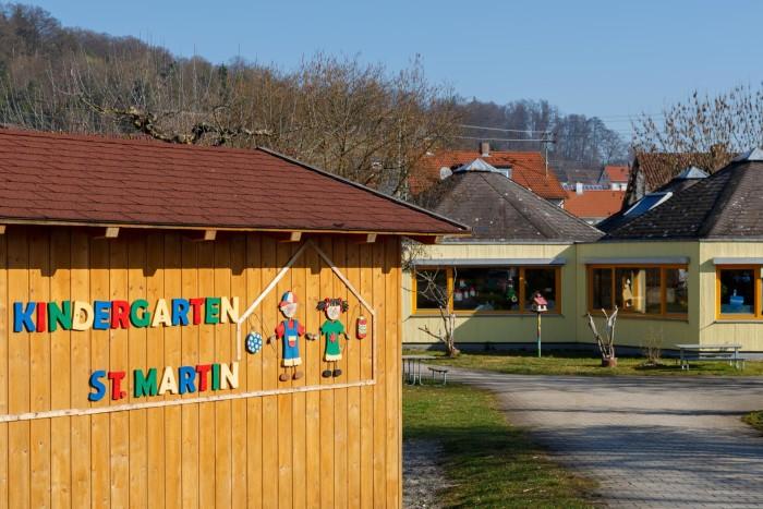 Здание детского сада В Германии