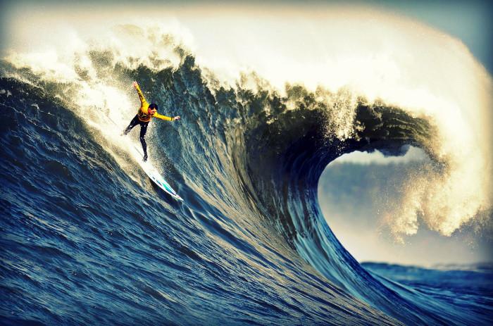Сёрфинг в Новой Зеландии