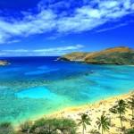 Морское побережье на Гавайях