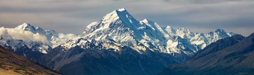 Горы в Новой Зеландии