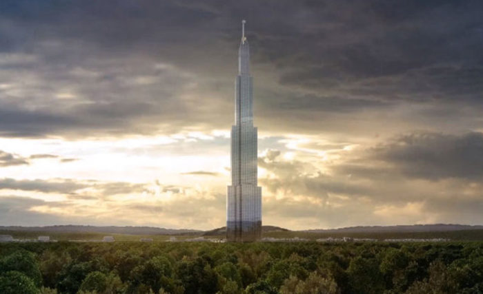 Китайский небоскрёб Sky City