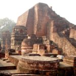 Руины древнего университета Наланда