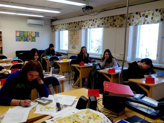 Российские студенты на стажировке в Финляндии