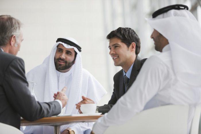 Бизнесмены в ОАЭ