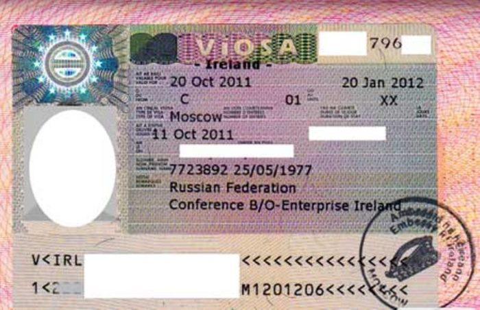 Ирландская рабочая виза