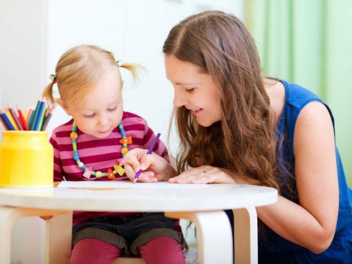 Творческое занятие с ребёнком