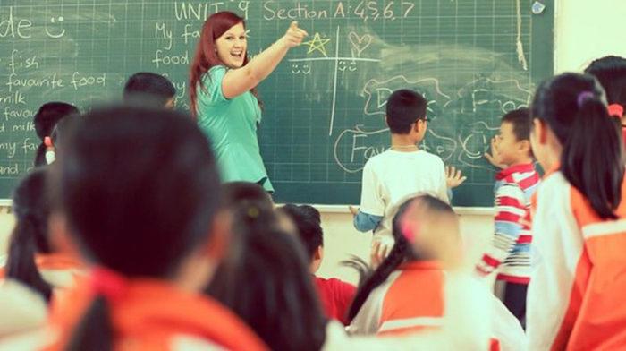 Работа в Китае учителем