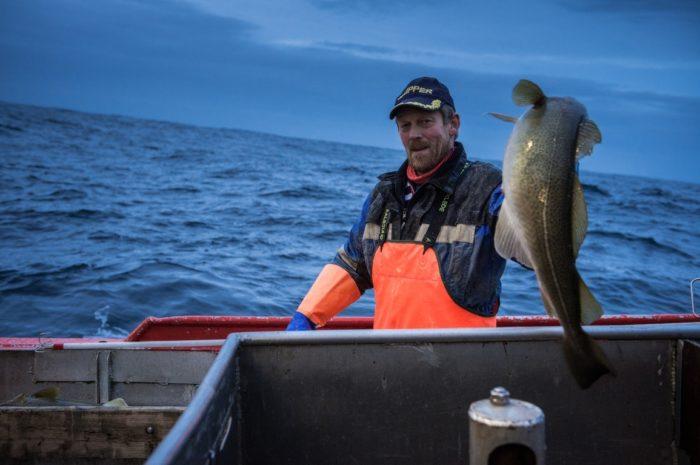 Рыбакв Норвегии