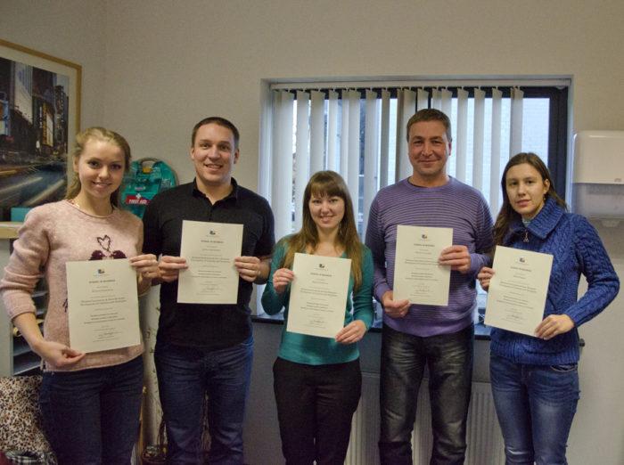 Иностранные стажёры в в Ирландии с сертификатами