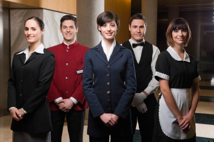Рабочий персонал в отеле