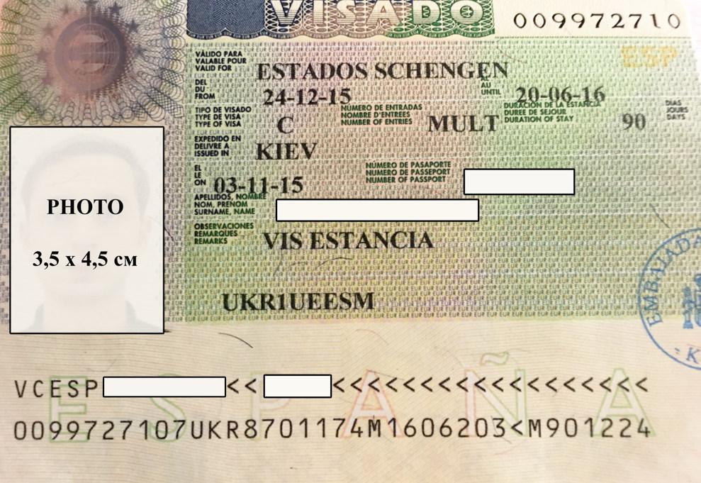 Подать на визу в испанию