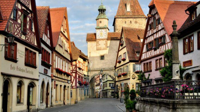 Улочки Германии