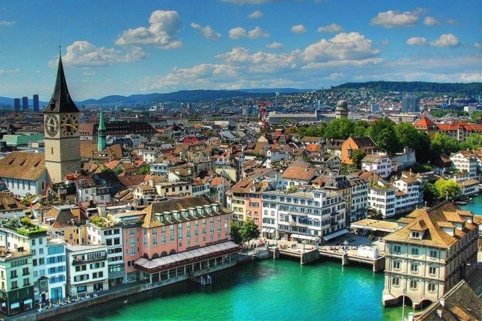 Швейцария — страна в центре Европы