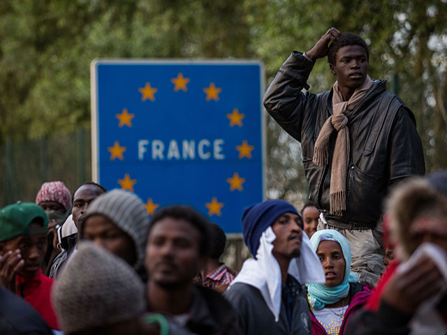 беженцы во Франции