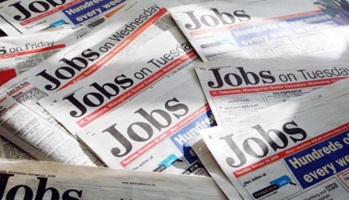 объявления о работе в США