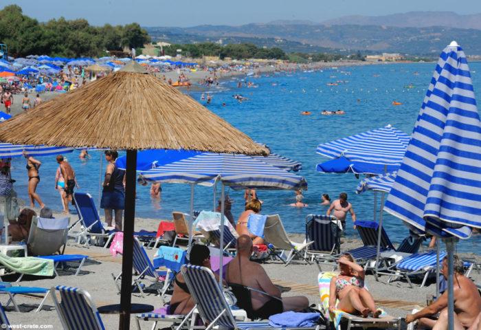 Пляж в Греции