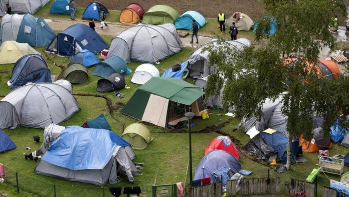 Поселение беженцев в Бельгии