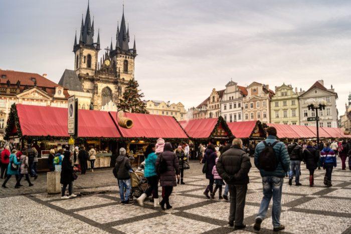 Ярмарка в Праге