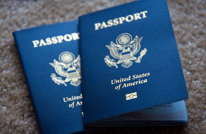 Паспорт гражданина Америки