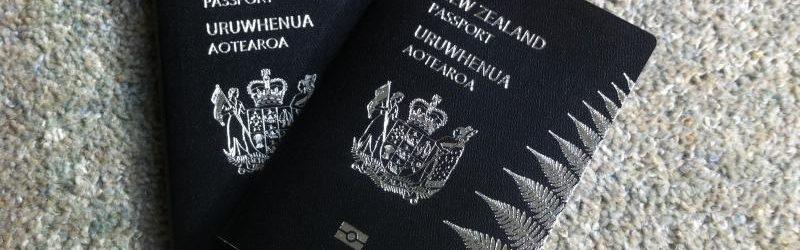 Паспорт Новой Зеландии