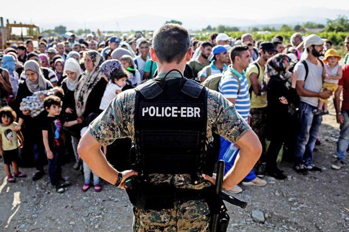 Прибытие беженцев в Европу