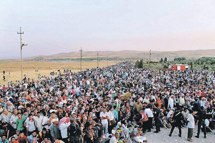 Протесты против беженцев в Европе