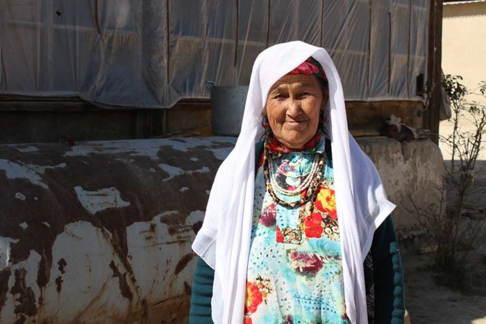 Таджикская пенсионерка